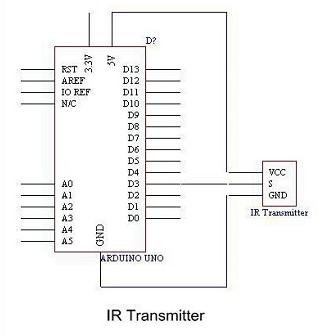 Infrared Emission Sensor Module For Arduino